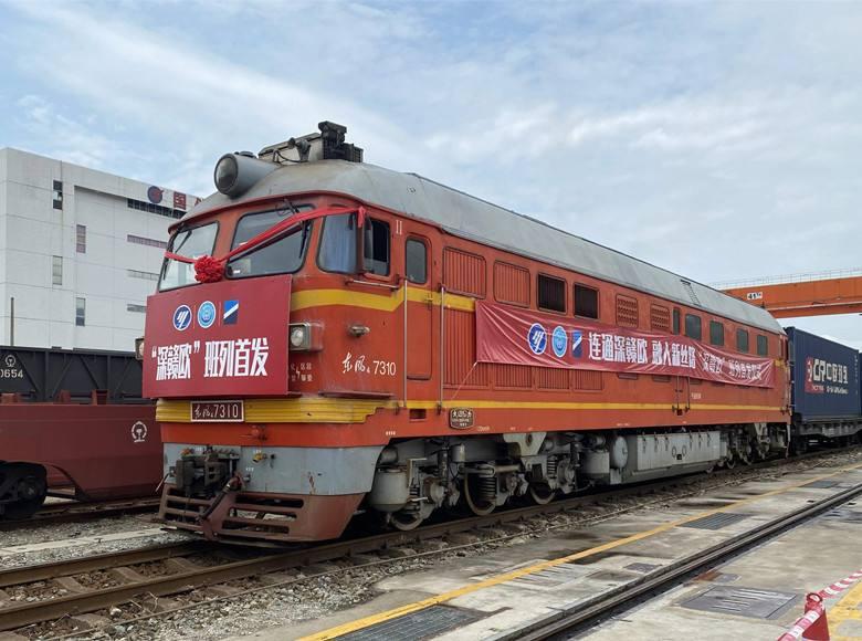 Открылся новый ж/д грузовой маршрут из Шэньчжэня в Европу